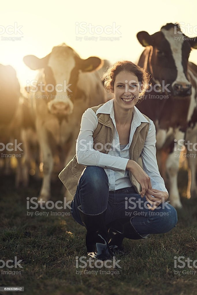 Farming is more than a job, its a lifestyle stock photo