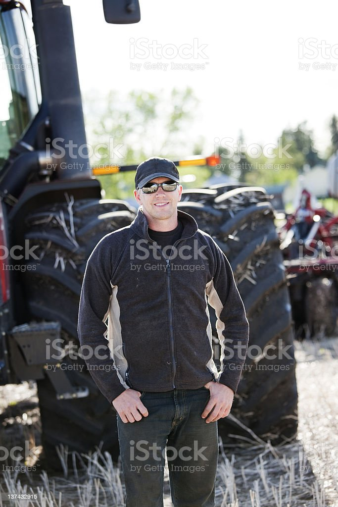 Farming royalty-free stock photo