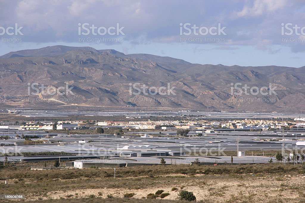 Farms in Spain royalty-free stock photo