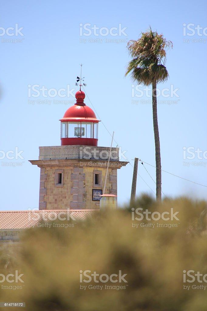 Faro da Ponta da Piedade stock photo