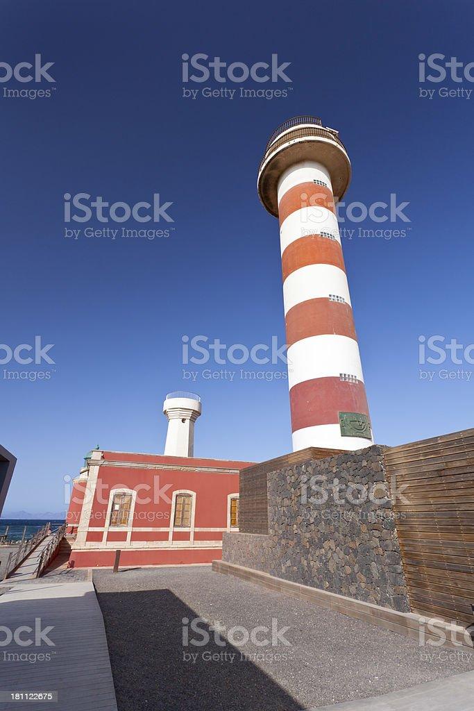 Faro Del Cotillo, Fuerteventura stock photo