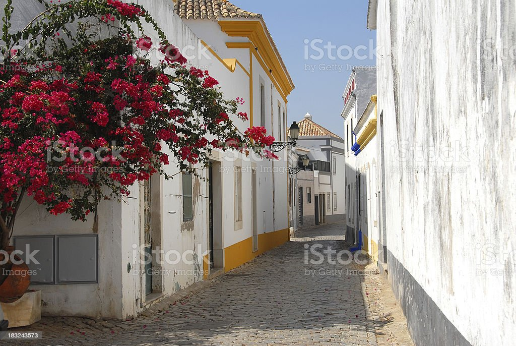 Faro old Town stock photo