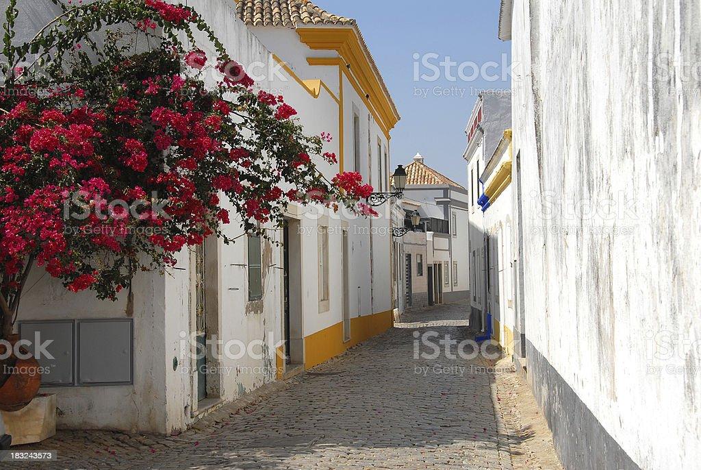 Faro old Town stock photo