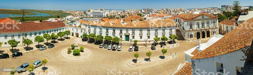 Faro Panorama stock photo