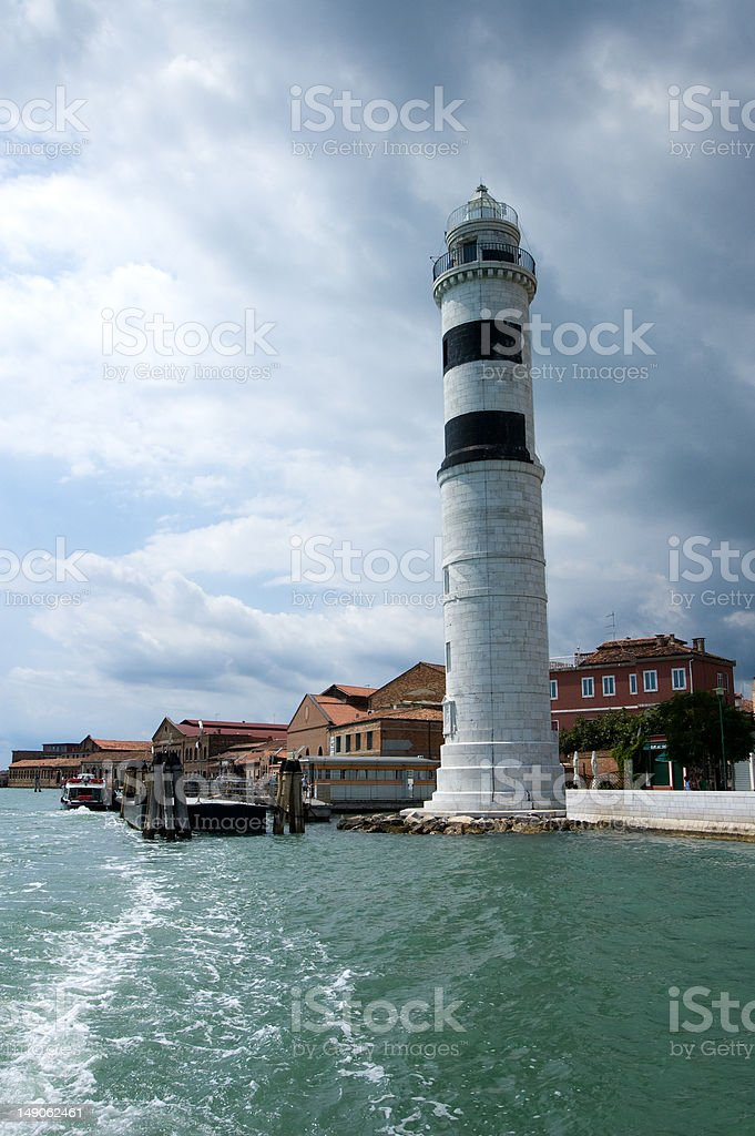 Faro (Murano, Venezia) stock photo