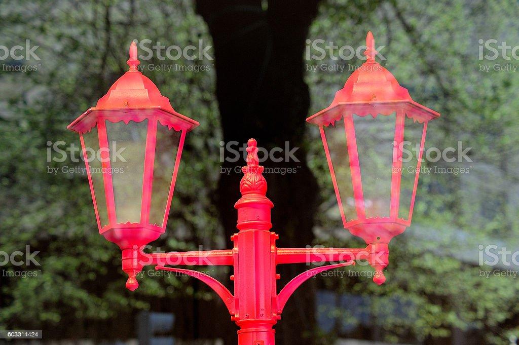 farola rosa royalty-free stock photo