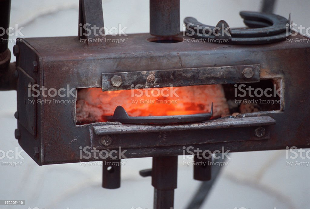 Farriers forge royalty-free stock photo