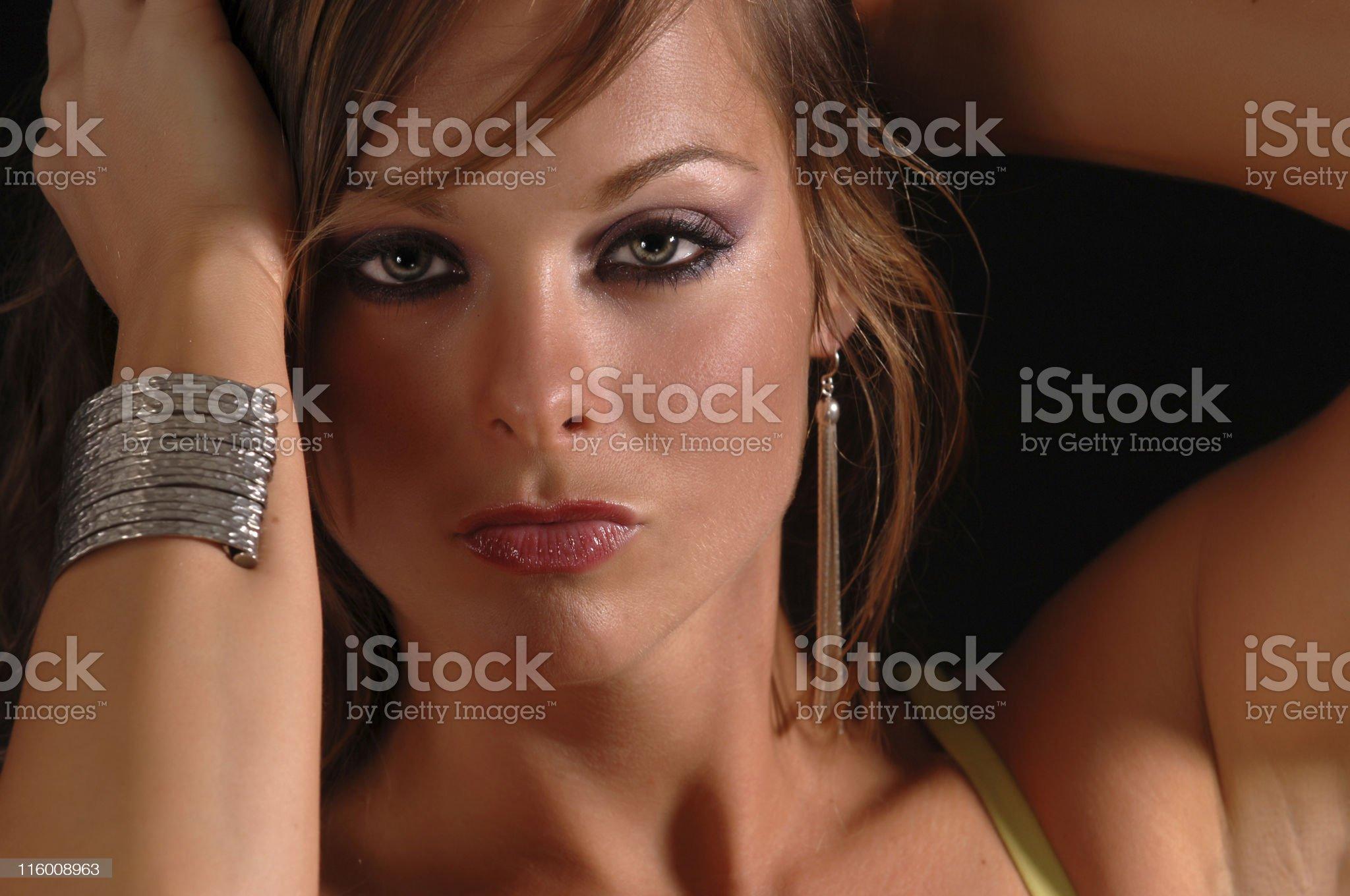 fascinating girl royalty-free stock photo
