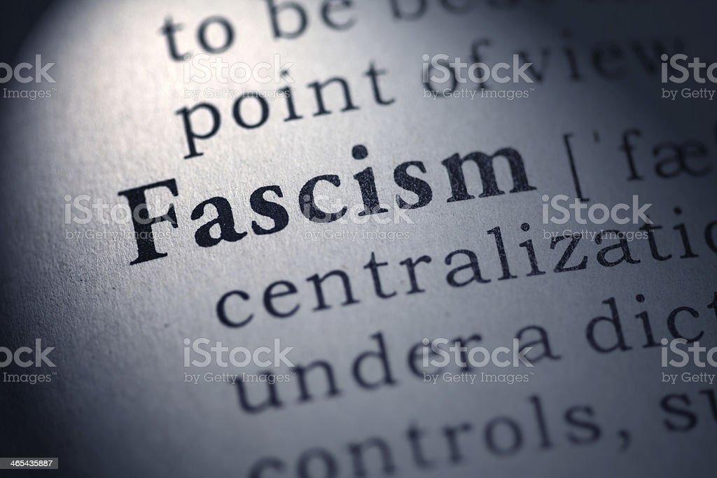 fascism stock photo