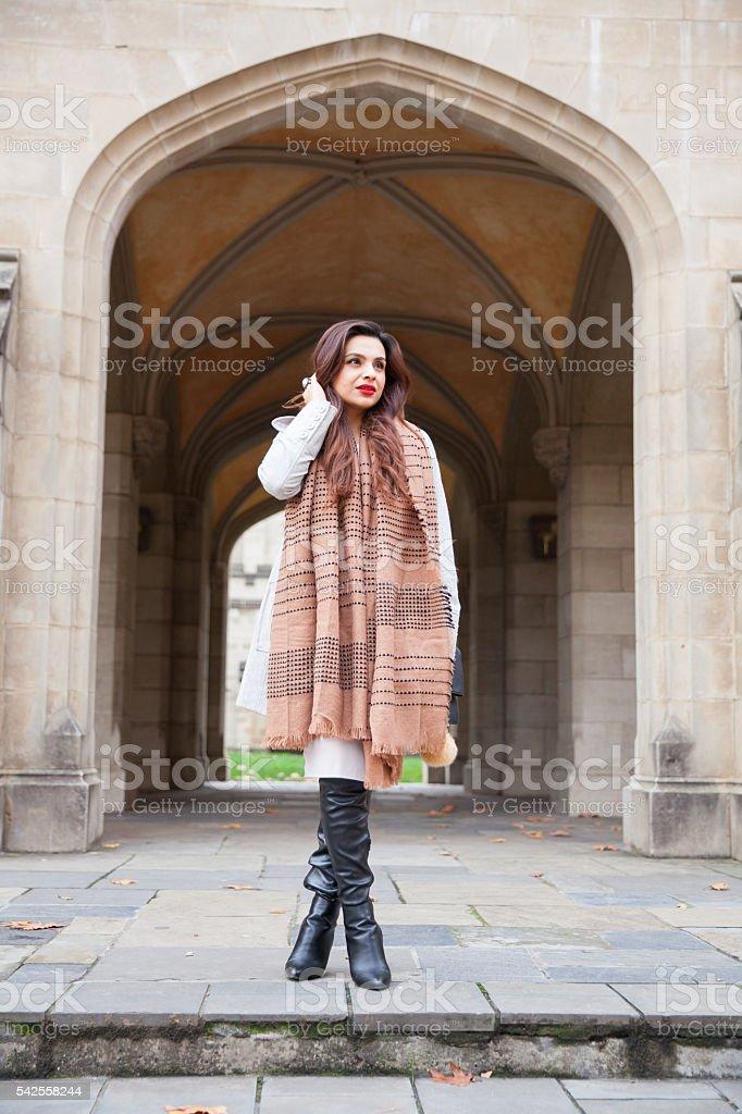 Fashion and Framing stock photo