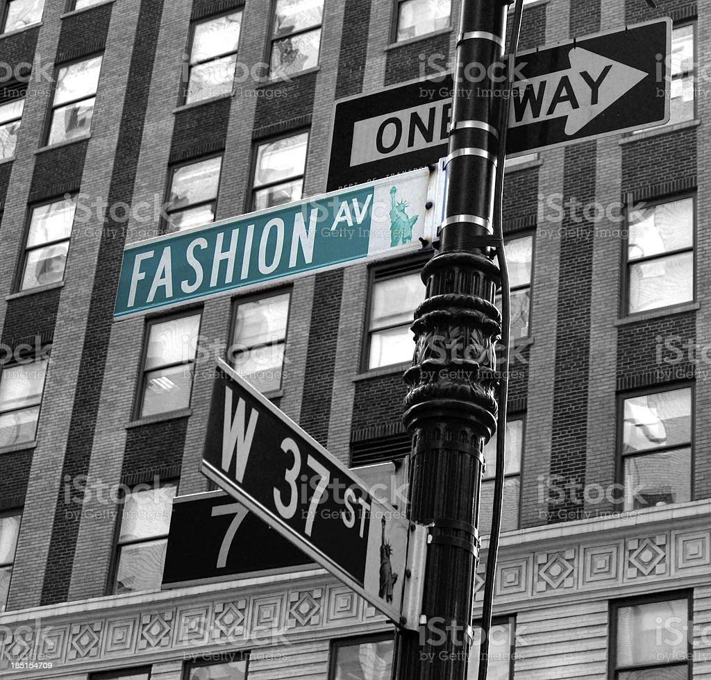 Fashion avenue stock photo