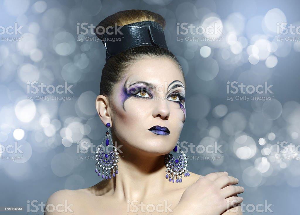 fashion beauty royalty-free stock photo