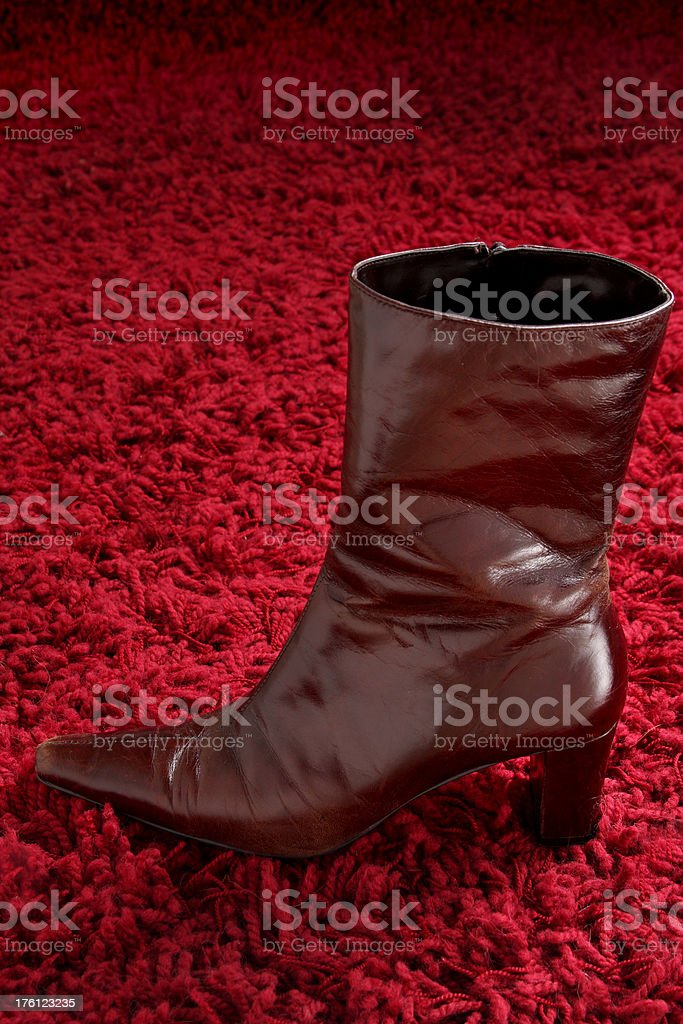 Fashion Boot royalty-free stock photo