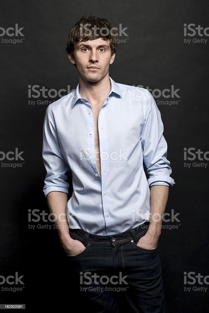 Fashion boy royalty-free stock photo