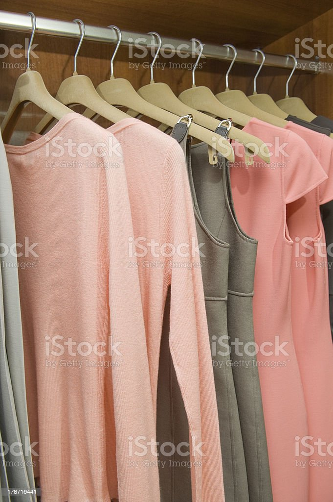 Fashion clothes royalty-free stock photo