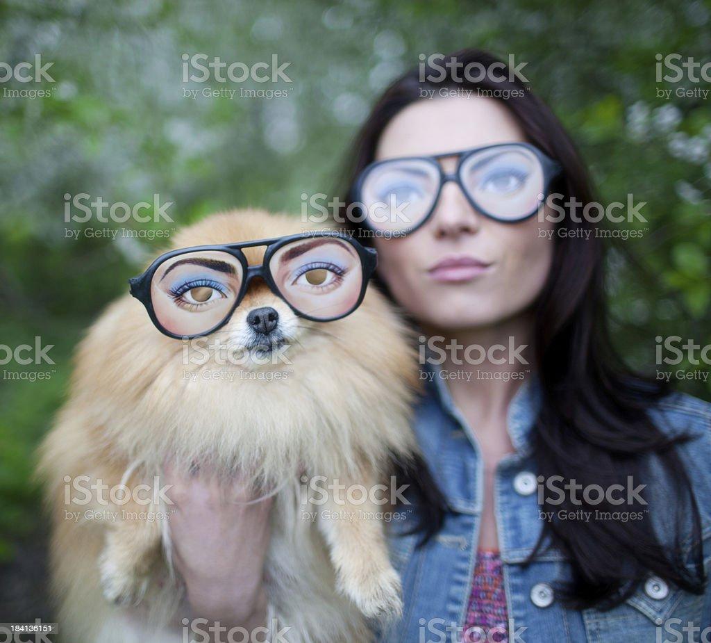 Fashion couple stock photo