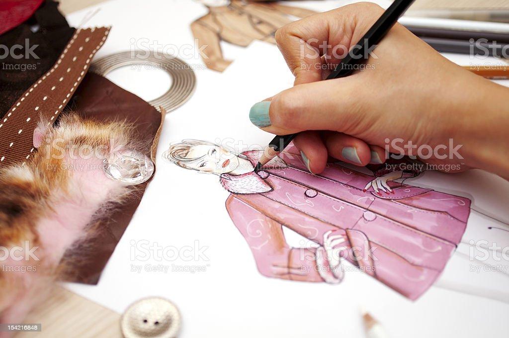 Fashion Design royalty-free stock photo