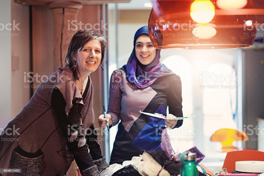 Fashion Design Startup Business stock photo