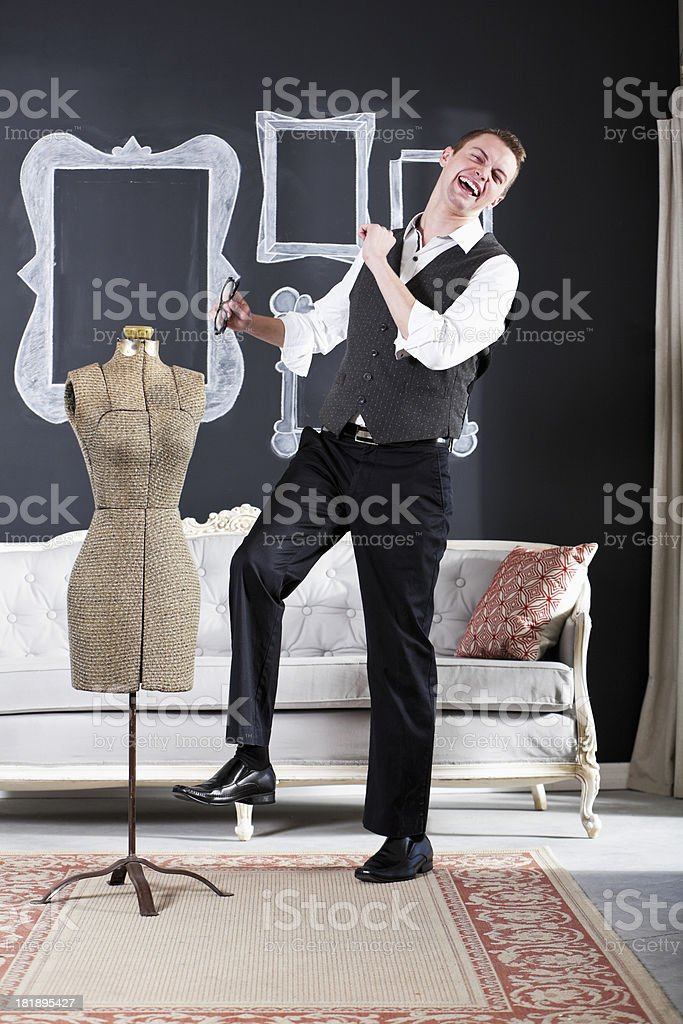 Fashion designer stock photo