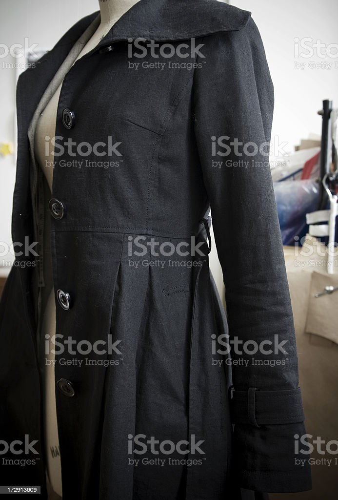 Fashion designer's mannequin royalty-free stock photo