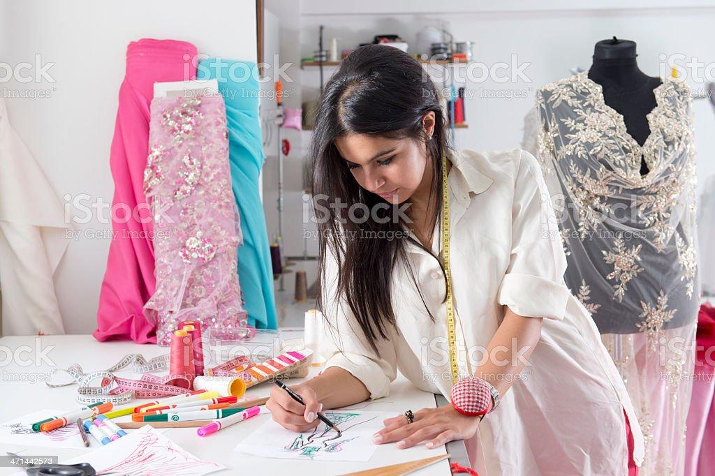 fashion designers royalty-free stock photo