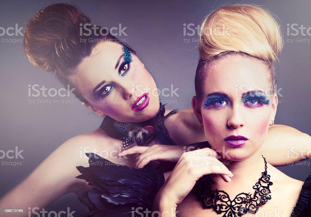 Fashion Dolls stock photo