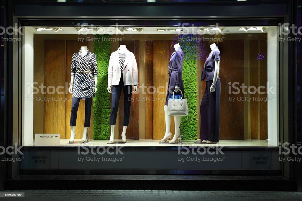 Fashion Dummies royalty-free stock photo