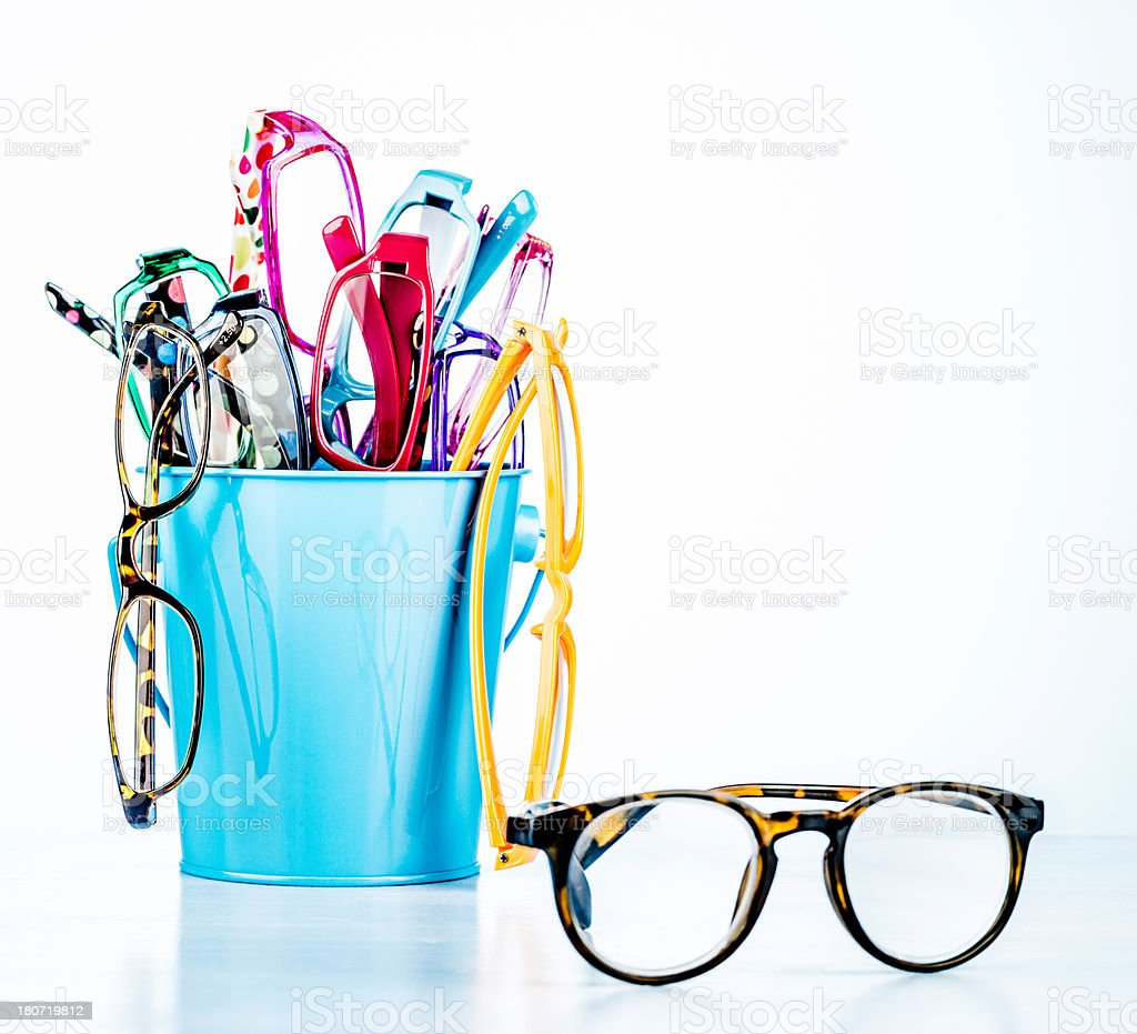 Fashion Eyeglasses for Women royalty-free stock photo