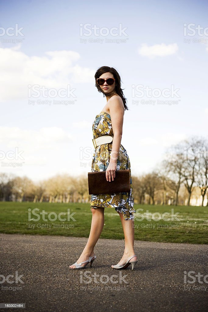 Fashion Girl 1 royalty-free stock photo
