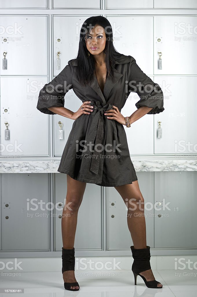 Fashion Girl stock photo