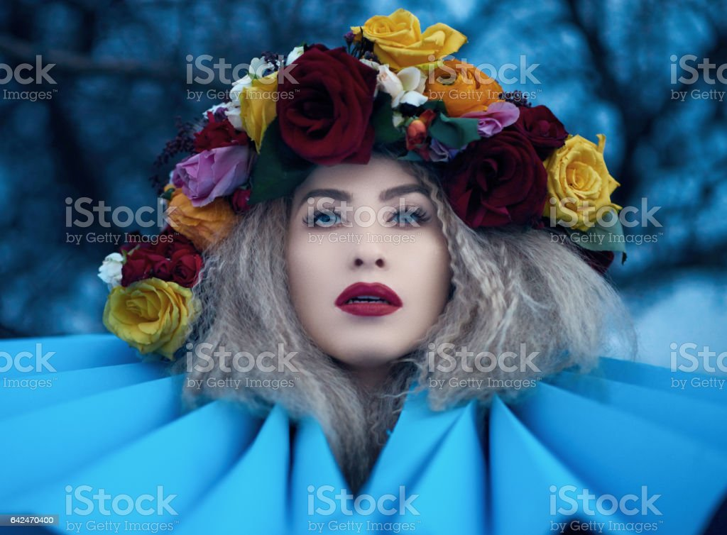 fashion, glamour, feelings stock photo