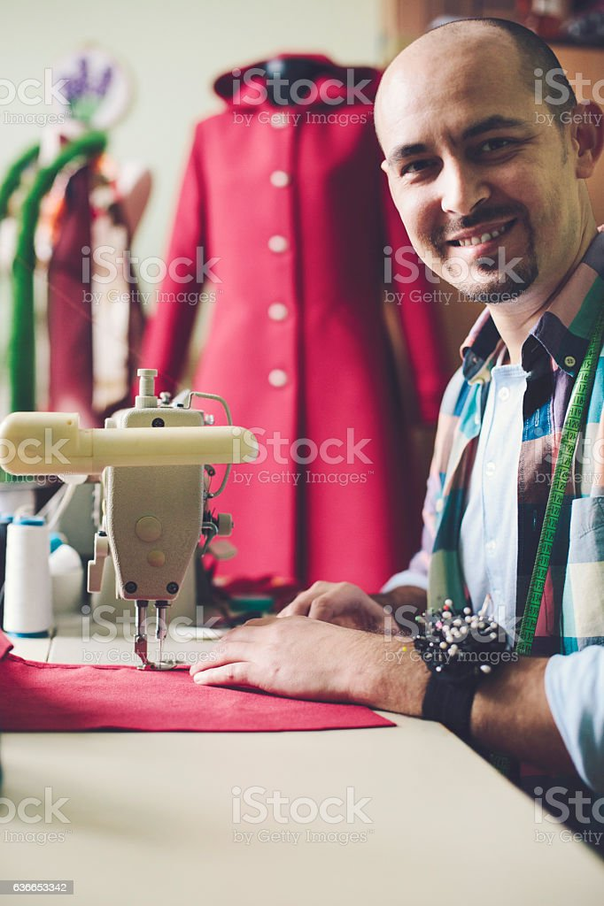 Fashion industry stock photo