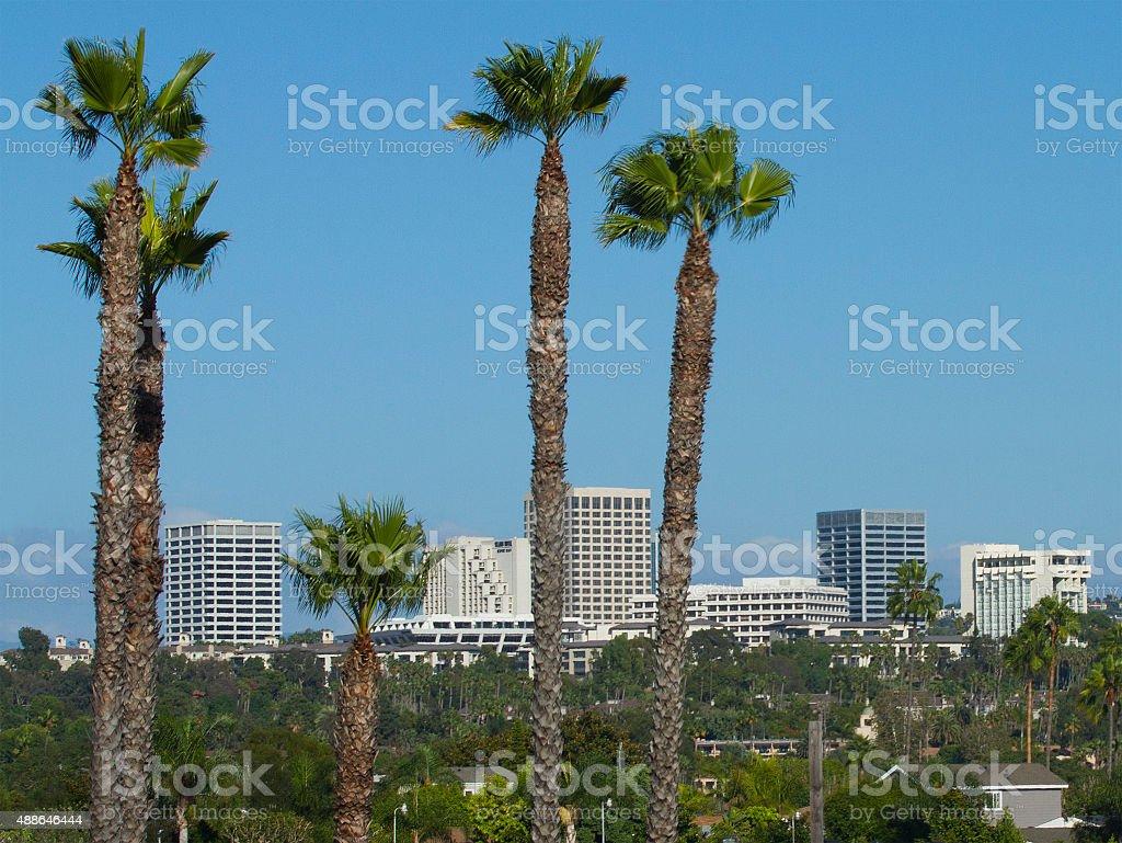Fashion Island - Orange County stock photo