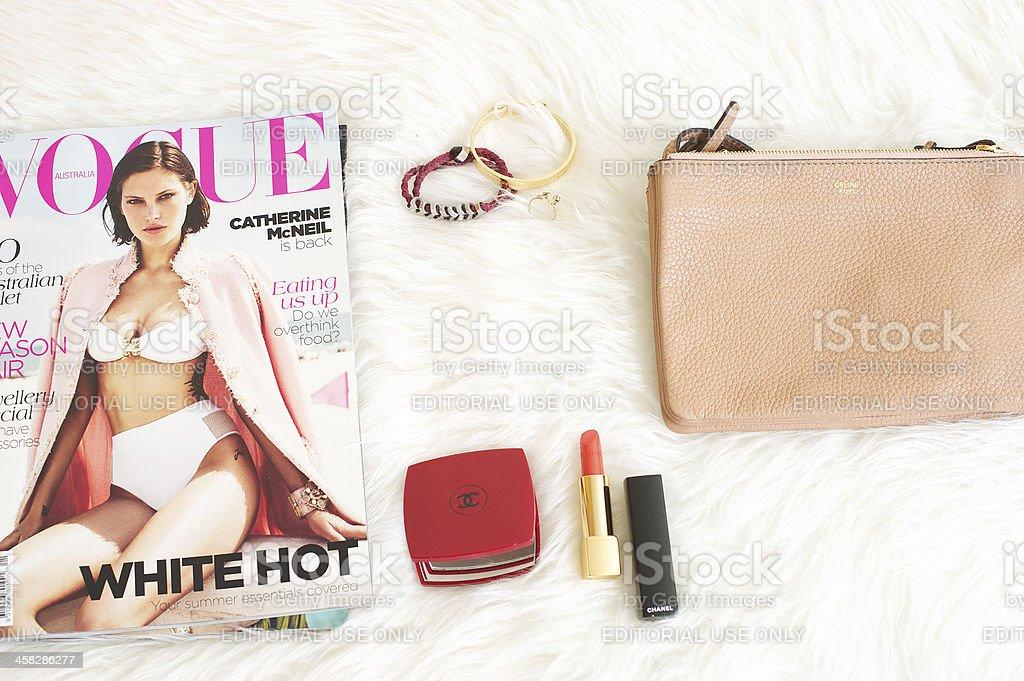 Fashion items stock photo