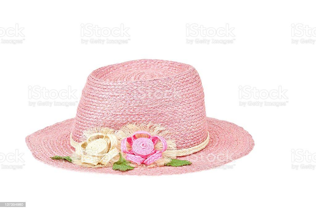 Fashion lady hat royalty-free stock photo