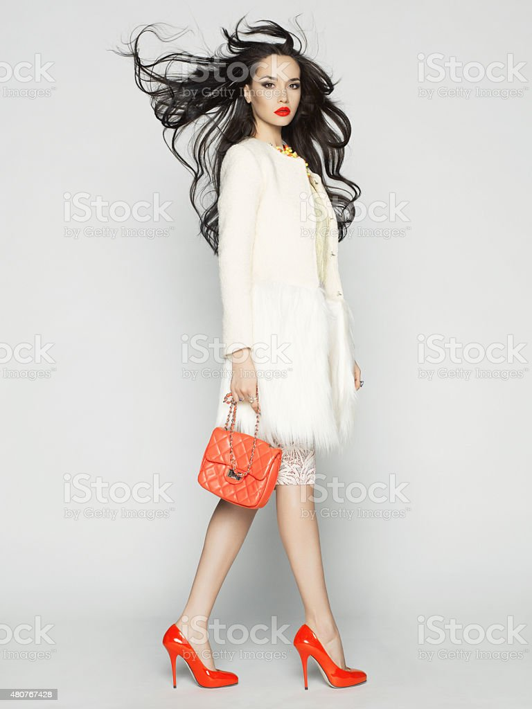 Fashion lady stock photo