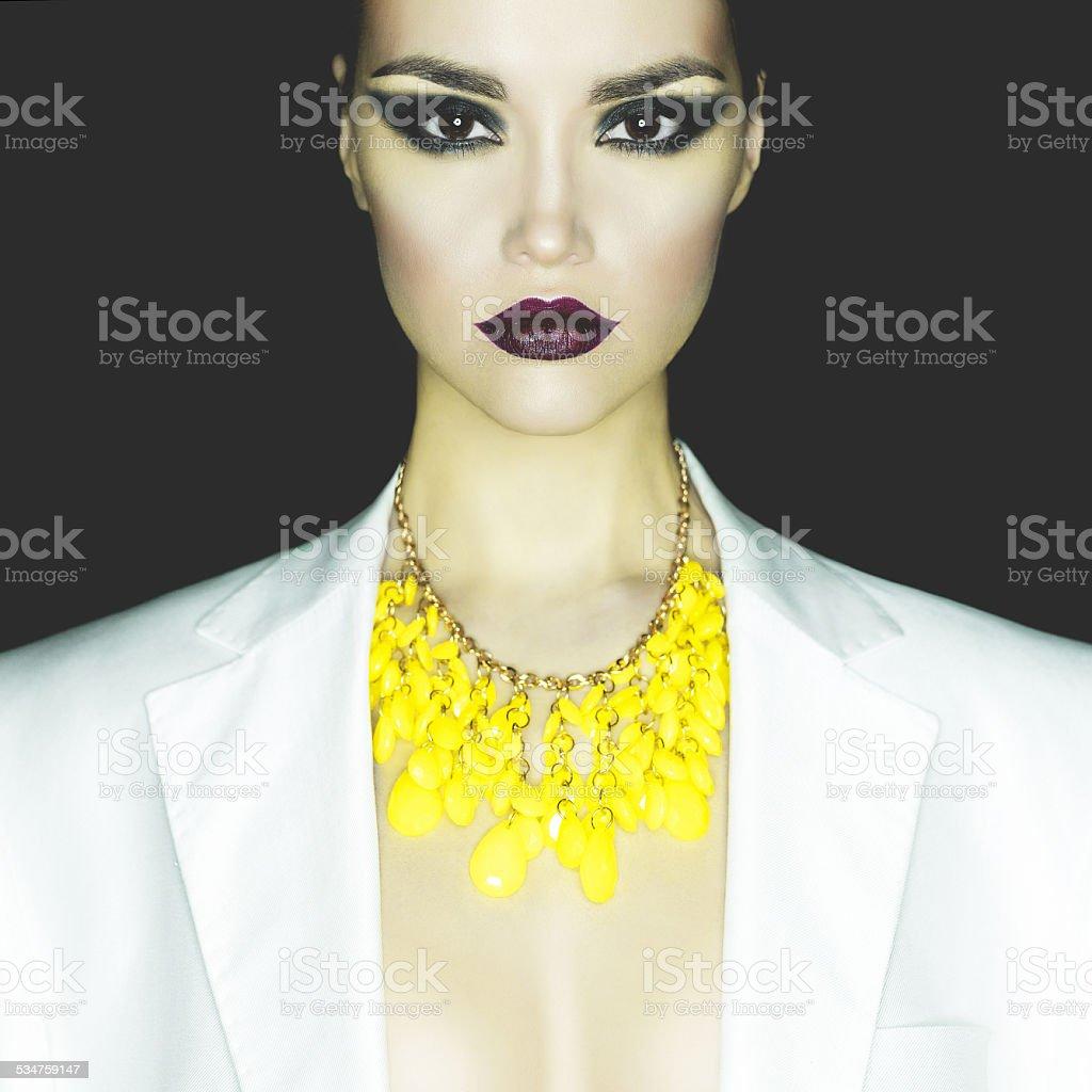 Fashion lady stock photo