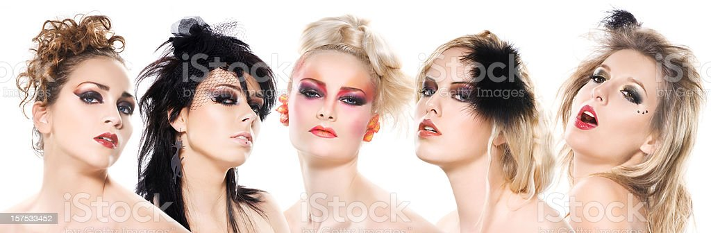 fashion lady's royalty-free stock photo