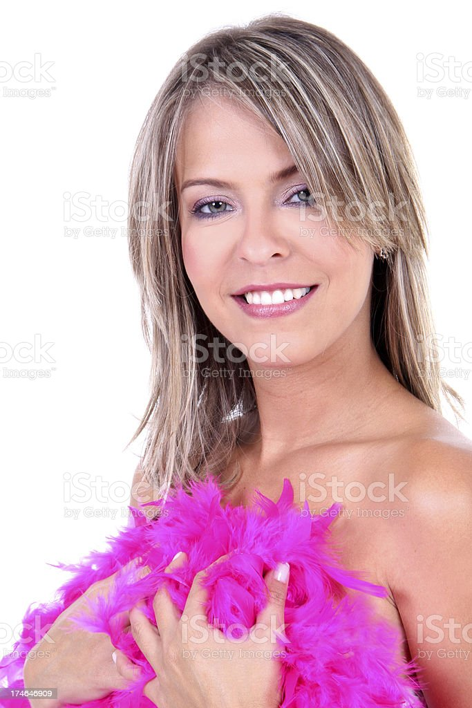 Estilo de moda rubia Retrato de modelo - foto de stock