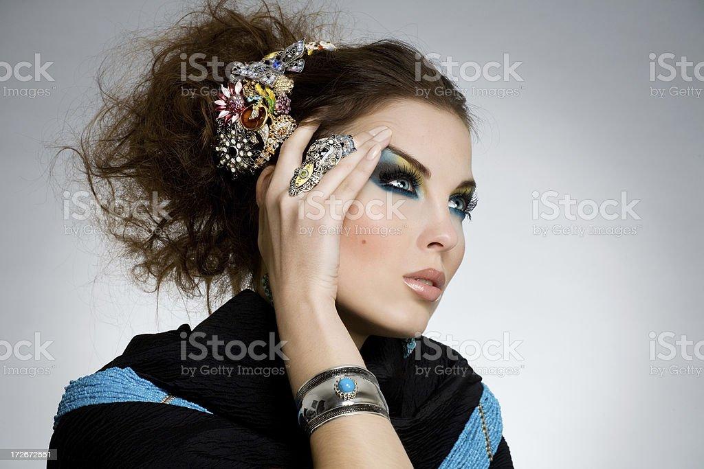 Fashion Look royalty-free stock photo