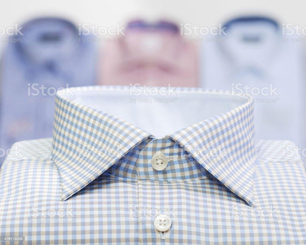 fashion man business shirt stock photo