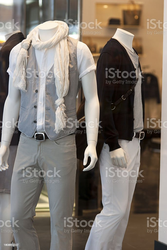 Fashion man, mannequin royalty-free stock photo
