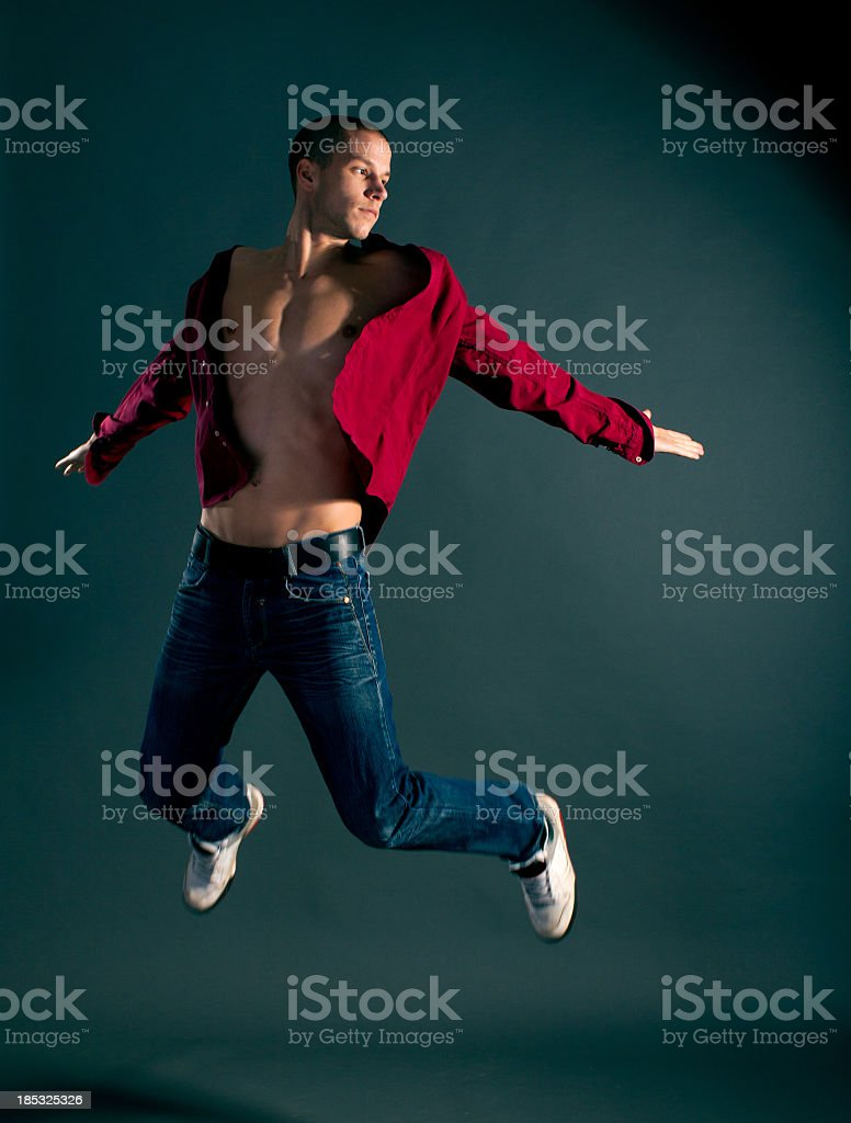 Fashion man royalty-free stock photo