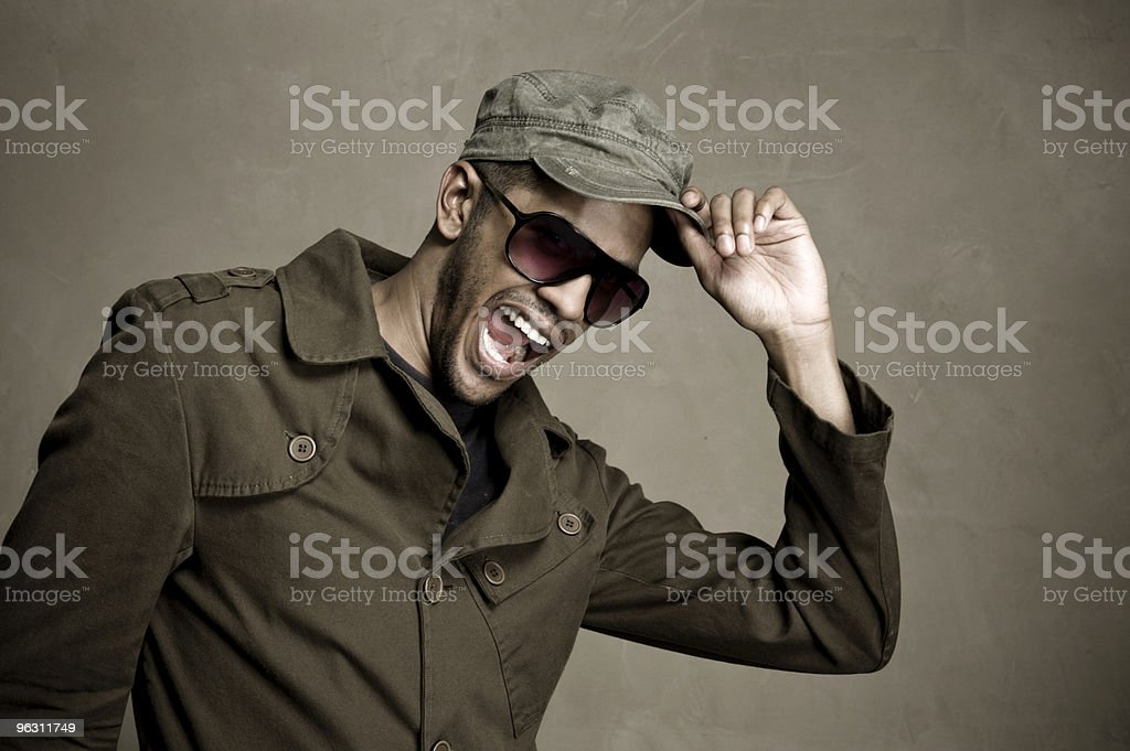 Fashion man stock photo