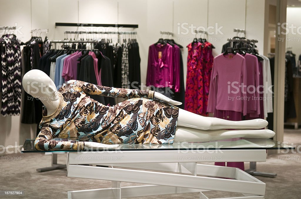 Fashion Mannequin royalty-free stock photo