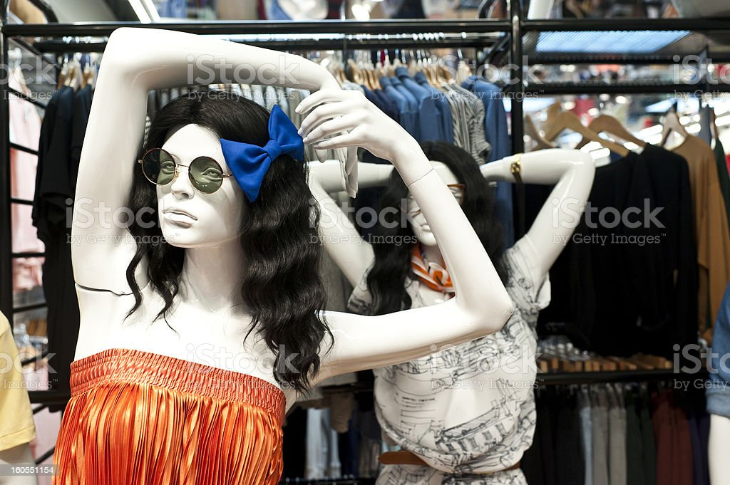Fashion Mannequins royalty-free stock photo