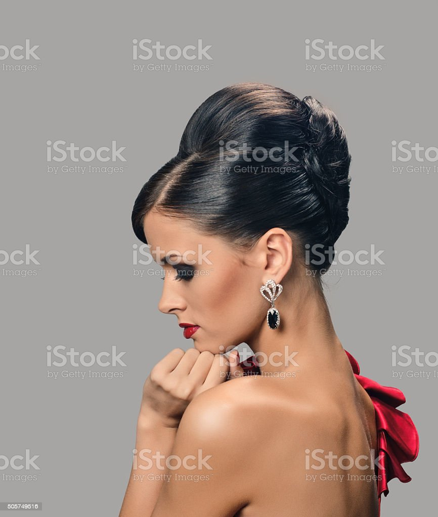 Fashion Model Girl stock photo