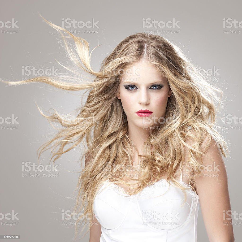 Fashion model. royalty-free stock photo