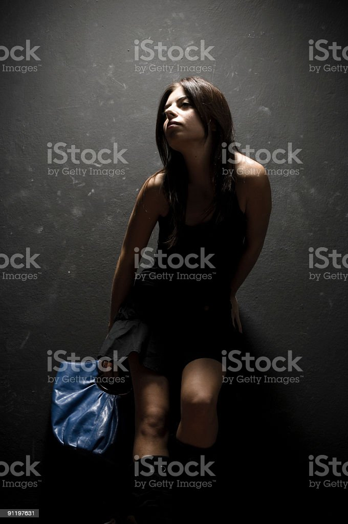 Fashion Model stock photo