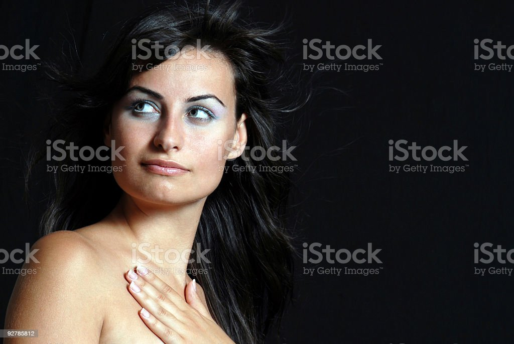 Fashion Model royalty-free stock photo